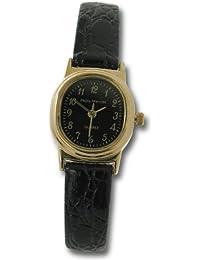 Philip Mercier SML13/B - Reloj de mujer de cuarzo color negro