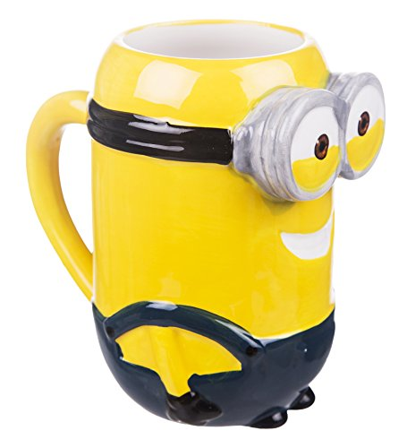 41j4eSEVu6L Minions Bob 3D Tasse mit Duftanhänger - Minions Tassen 3D - Produkttipp
