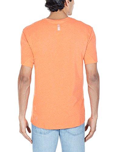 PUMA Herren T-Shirt PT AT Cool Natural Graphic Nasturium Heather
