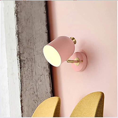 Hai Ying ♪ * Lovely Simple/Modern/Contemporary Wandlampen & Wandlampen Arbeitszimmer/Büro/Indoor Metallwandleuchte 110-120V / 220-240V 40 Watt, Rosa ♪