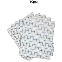 f138668561 10 20 50 Hojas de papel de transferencia de calor de hierro A4 para