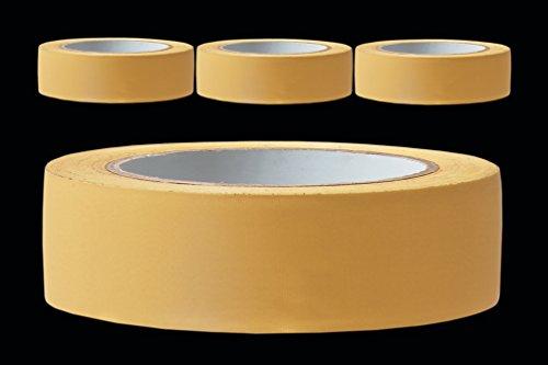 3 Rollen PROFI Putzerband 30 mm gelb gerillt 33m PVC Schutzband Putzband Bautenschutz Klebeband Putz Abdeckband