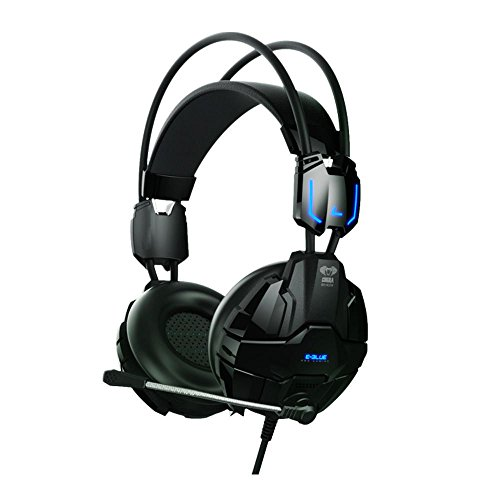 E-Blue ehs902bkaa-1y Cobra Advanced schwarz USB und 3,5mm Gaming Headset-(Kopfhörer Mikrofone > Kopfhörer & Headsets)