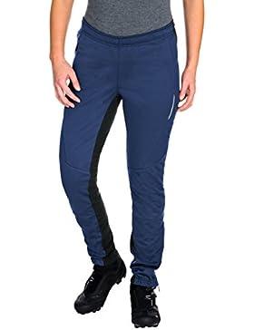 VAUDE–Pantalón de Softshell Wintry Pants III, mujer, Women's Wintry Pants III, Sailor Blue