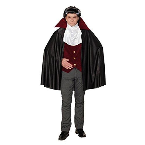 Dracula Kostüm Vampirkostüm Vampir Karnevalkostüm Männer Halloweenkostüm Herren Draculakostüm