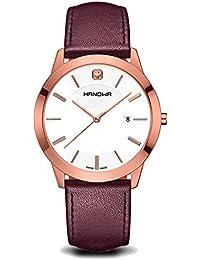 Swiss Military Hanowa 16-4042.09.001 - Reloj para hombres, correa de cuero color marrón