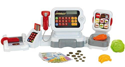 Theo Klein 9347 Electronische Kassen- und Wiegestation mit Folientastatur, Spiel