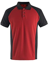 Amazon.es  rojo negro - Polos   Camisetas f3904beb1ae4f
