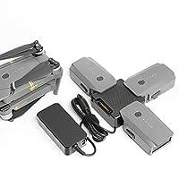 KFD 13.05V Power Supply Adapter for DJI Mavic Pro, Mavic 2 Zoom, Mavic 2 Pro Drone,Platinum Battery Charger DJI Mavic controller DJI Mavic Pro Drone DJI CP.PT.000567 50W Mavic Battery Charger 3 PIN UK Plug Power Cord Cable