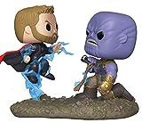 Funko 35799 Pop! Bobble - Paquete de 2 Piezas: Marvel: Movie Moments: Thor vs...