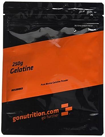 GoNutrition 250 g Pure Bovine Gelatine Powder