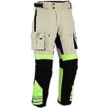 Bikers Gear pantalones blindados CE 1621–1, alta visibilidad, uk36s-eu46s