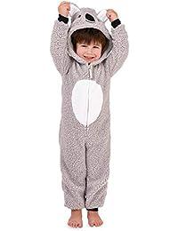 Nifty, Enfants Nouveauté Amusant Polaire Chaud Doux Combinaison Pyjama