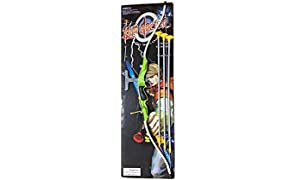 munchkin land King Archer Bow and Arrow Play Set, Big (Multicolour) - Set of 3 Pieces