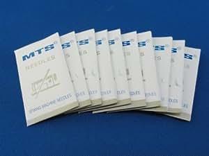 Aiguilles pour machines à coudre insdustrielles taille 18 DBX1,16X231 pour Brother, Singer, Juk (Pack de 100)