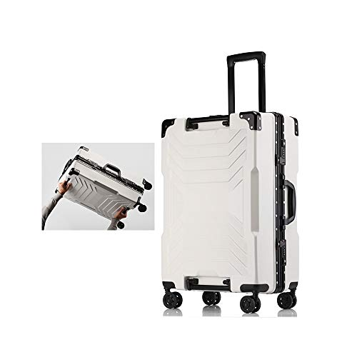 XF Carrelli portavaligie Valigia trolley da viaggio universale ruota universale marea telaio alluminio valigia maschio studente password imbarco