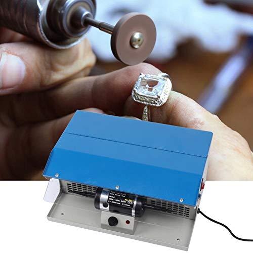 Polier-Poliermaschine, Berufsschmucksache-Staub-Kollektor-Polierpoliermaschine-Tischplattenschmucksache-Polierpuffer(EU-Stecker)