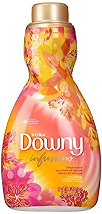 Downy Ultra Infusions Citrus Spice Liquid Fabric Softener 48 Loads 41 Fl Oz