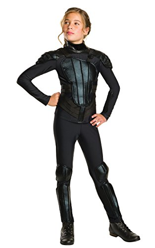 Kostüm Katniss Kleid - Rubie 's Offizielles Katniss Mädchen Fancy Kleid Hunger Games Mockingjay Buch Film vorpubertären Kinder Kostüm
