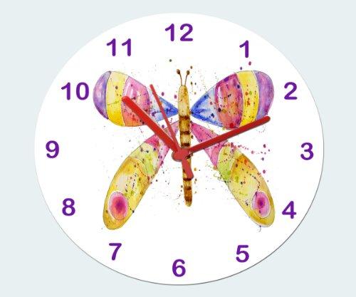 Schmetterling, Uhr, Kinderuhr, Mädchenuhr