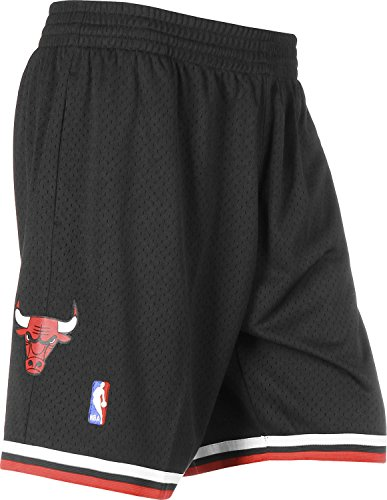 Mitchell & Ness Chicago Bulls 1997-1998 Swingman NBA Shorts Schwarz, S