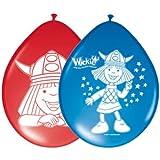 Wickie Comic Wikinger Luftballon Kinderparty 8 St�ck Kindergeburtstag