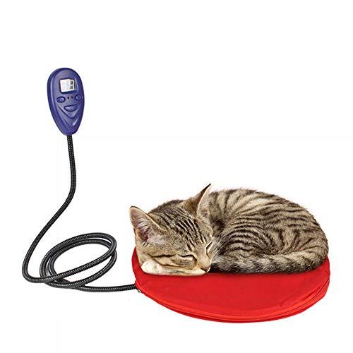 JINGC Manta eléctrica termostato Animal doméstico