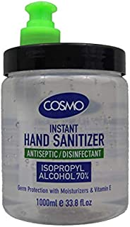 COSMO Advanced Instant Antiseptic & Disinfectant Hand Sanitizer, 100