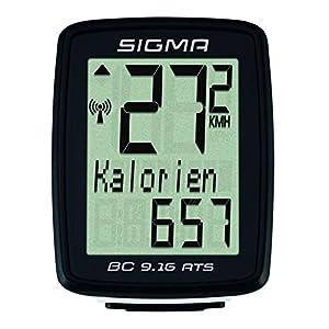 Sigma 09162 Ciclocomputador, Unisex Adulto, Negro, Talla Única