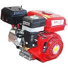 Bricoferr BFJ168F - Motor 170F a gasolina para motoazada