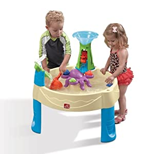 Step2 840100 Mesa para Arena y Agua - Mesas para Arena y Agua (Mesa para Agua, Multicolor, Interior y Exterior, 1,5 año(s), 15 L, EE.UU.)