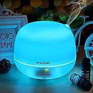 Innoo Tech Aroma Diffuser, 500ml Aromatherapy/Essential Oil Diffuser, Ultrasonic Humidifier & Cool Mist Hu