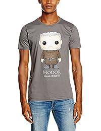 Game of Thrones Funko-Hodor, T-Shirt Homme