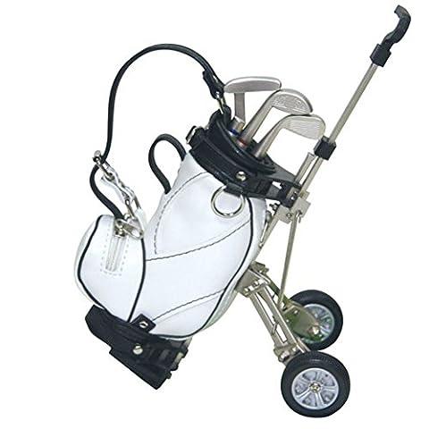 Crestgolf Colorful Golf Cart Gift Set Golf Bag Golf Pens