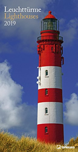 Leuchttürme 2019 - Leuchtturmkalender, Meereskalender, Strandkalender  -  33 x 64 cm
