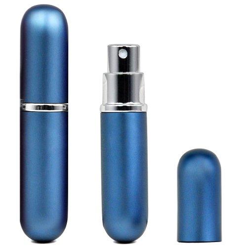 TOOGOO(R) leicht nachfuellbar fuellen Reise Parfuemzerstaeuber Pump-Spray-Flasche / Reise / Handtasche - Blau