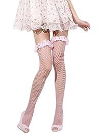Jixin4you Femme Bas Résille Pantyhose Transparent Entrejambe Collants  Érotique 56f904d77f9