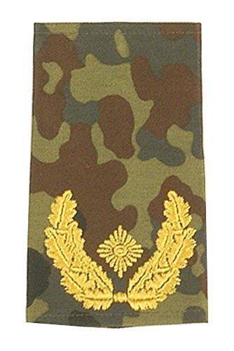 A.Blöchl Bundeswehr Heer Rangabzeichen Flecktarn - Schwarz (Brigade-General)