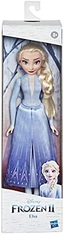 Disney E90225X0 Frozen 2 Elsa Fashion Doll With Long Blonde Hair, Skirt, and Shoes, Elsa Toy Inspired by Disne
