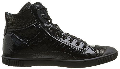 Pataugas Bono/C F4b, Baskets Hautes Femme Noir