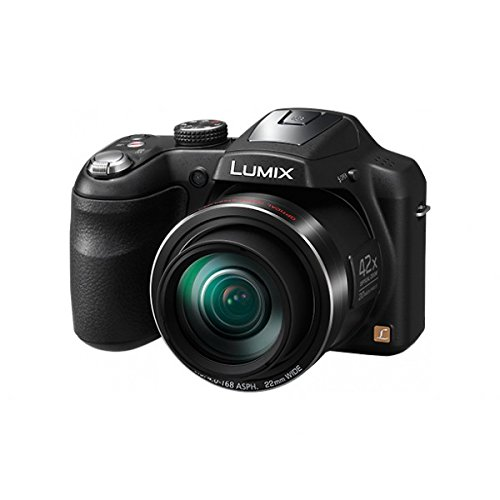 Panasonic Lumix DMC LZ40 20MP Digital Camera (Black) with 42x Optical Zoom