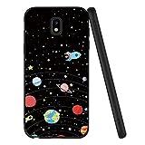 ZhuoFan Coque Samsung Galaxy J3 2017, Etui en Silicone Noir avec Motif 3D Fun...
