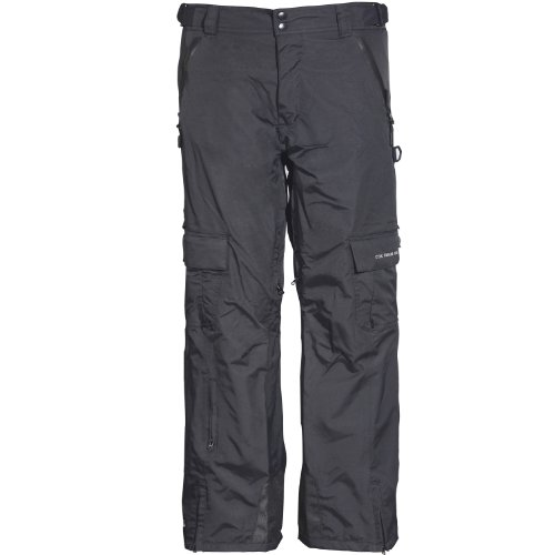 Cox Swain Herren 2-Lagen Ski-/Snowboardhose Ice Limited, Colour: Black, Size: M