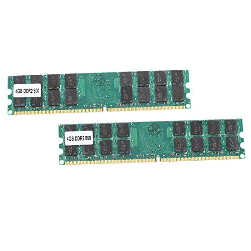6400 Desktop Speicher (RETYLY 8G (2 x 4 G) Speicher RAM DDR2 PC2-6400 800MHz Desktop-Nicht-ECC DIMM 240 Pin Fuer)