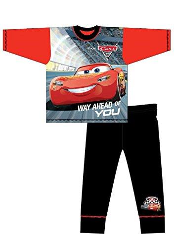 ältere Junge Cars 3 Pyjamas Nachtwäsche Lightening McQueen Jackson Storm 4-5 to 9-1 - Weg Ahead schwarz Böden, EU 104-110 (Pyjama-böden Jungen)