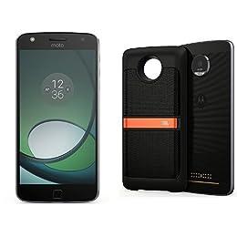 Moto Z Play - Smartphone, Color Negro + Moto Mod - Altavoz JBL, Color Negro