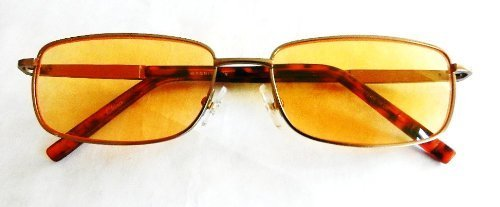 magnivision-100-computer-readers-gold-wire-frame-reading-glasses-with-yellow-lens-spring-hinges-159-