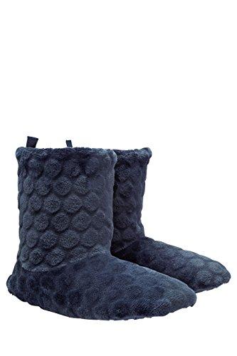 next Pantoufles Confortables Standard Femme Bleu