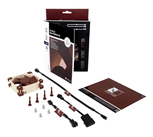 Noctua NF-A8 ULN, Ventilateur ultra silencieux haut de gamme, 3 broches (80 mm, Marron)