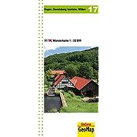 Wanderkarte Nordrhein-Westfalen 17 Hagen 1:25 000 (Geo Map)